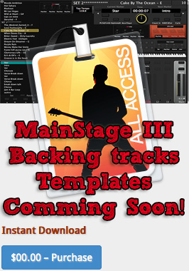 MainStage 3 Template coming soon