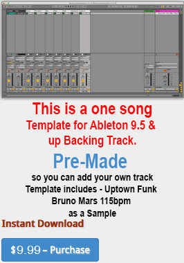 Backing track Template