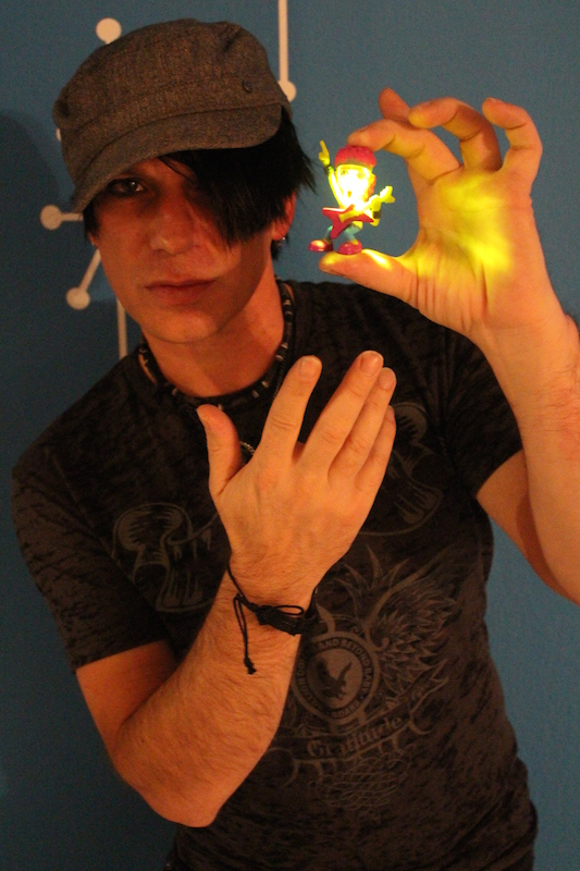 victor james is a las vegas based performer and criss angel lookalike    Victor Criss