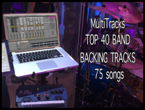 Cover BAND BACKING TRACKS